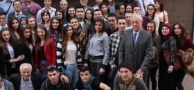 Tetova Üniversitesinden Derneğimize Ziyaret
